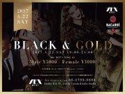 ★4/22(土)【300名規模】【梅田】恋活&友活BLACK&GOLDパーティー in XEX WEST♪★